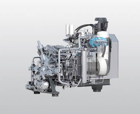 BAUER GIB 26-SP water-cooled, high-pressure compressor