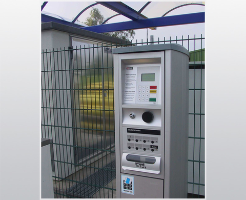 TA 2340 – automatic fuel vending machine for station card operation through a provider contract (e.g. Telecash)