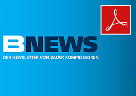 B-NEWS – The BAUER KOMPRESSOREN Newsletter